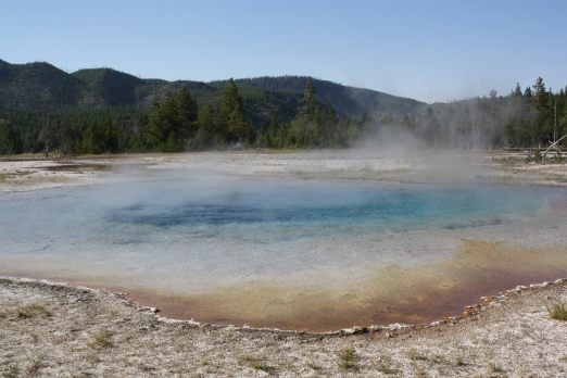 Thermal Activity in Yellowstone National Park