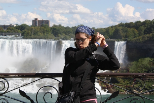 My Signature Move At Niagara Falls