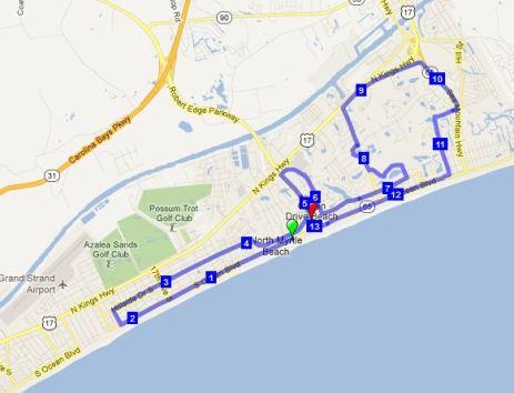 Half Marathon Myrtle Beach April