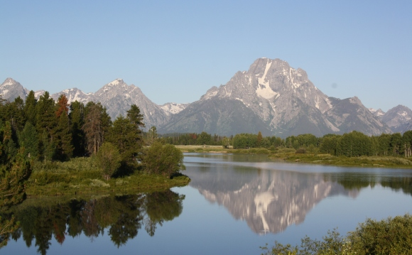 Grand Teton National Park way too early in the morning...