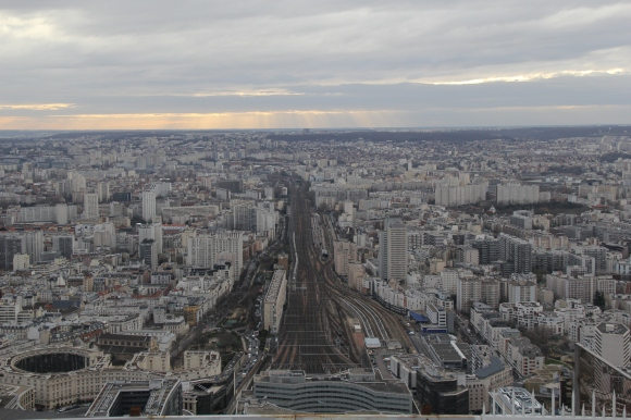 Paris Montparnasse is one of the six large Paris train stations, just south of the Monparnasse tower. It opened in 1840, and was rebuilt completely in 1969. It is used by intercity TGV trains to the west and south-west of France including Tours, Bordeaux, Rennes and Nantes, and by suburban and regional services on the Transilien Paris – Montparnasse routes.