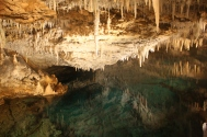 It's not hard to figure out why it's called Crystal Cave