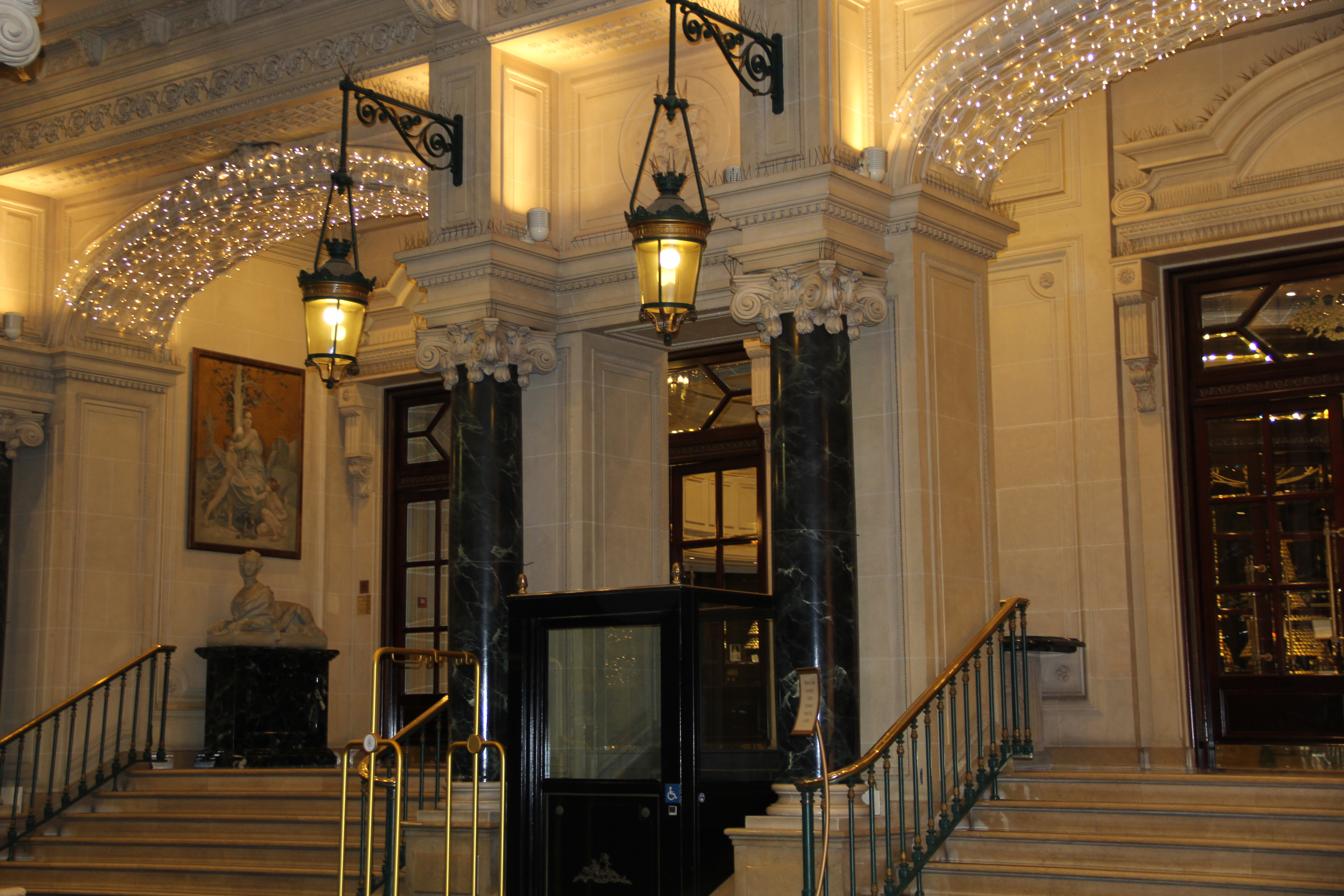 Hotel review intercontinental paris le grand nam writes for Le grand hotel