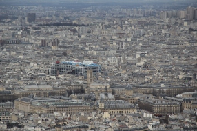 Built in 1977, the Pompidou Centre houses Paris' modern art collection. In the spirit of modern art, the museum's iconoclastic architecture has an inside-out feel. The top floor of the museum also hosts a stunning view of the city.