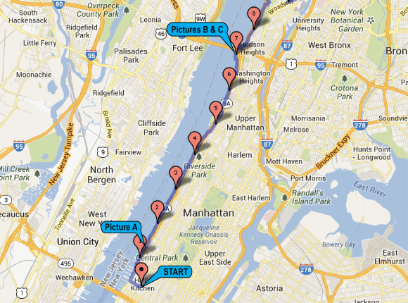 Biking route nyc - 1