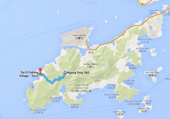 Tai O map