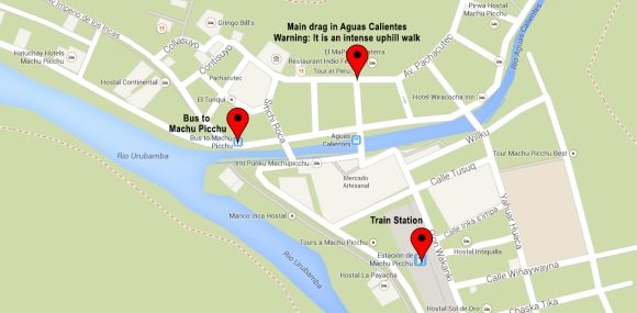 Aguas map