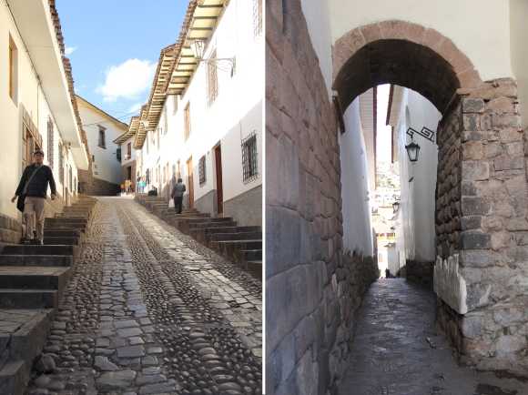 Cusco side by side