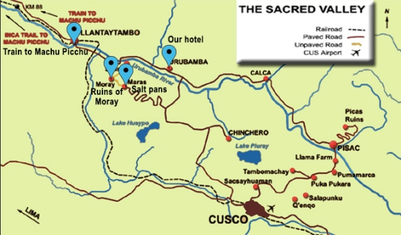 Sacred Valley Map2