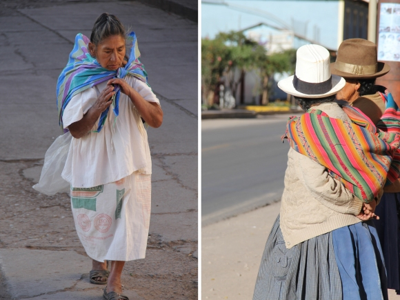 two ladies side by side (2) - urubamba