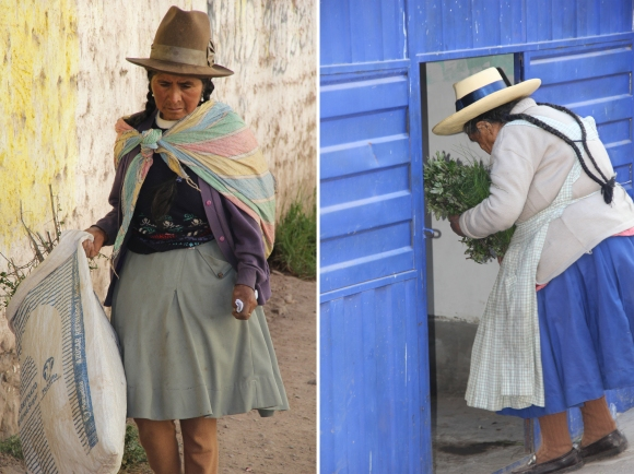 two ladies side by side - urubamba2
