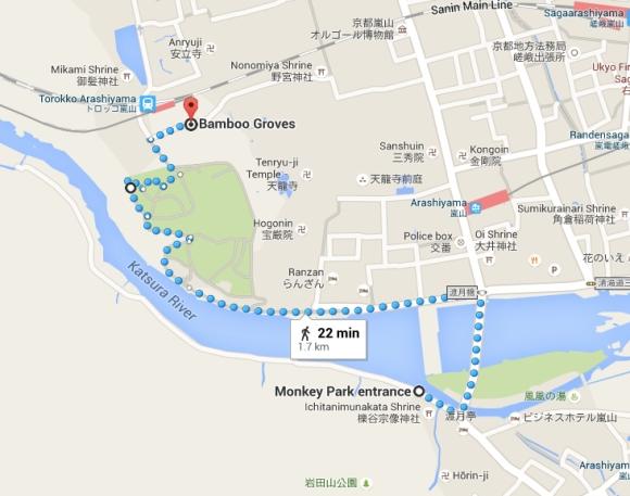Monkey Park map