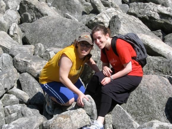 River of Rocks-Me and Lisa4