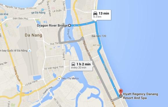 Danang map