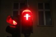 Berlin's famous ampelmann - traffic man
